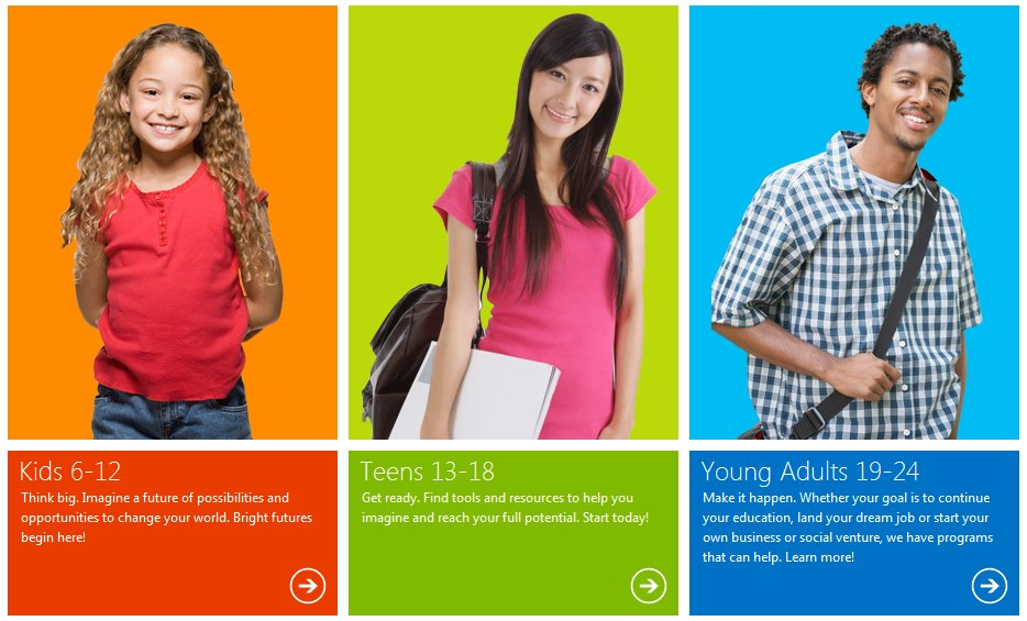 Microsoft YouthSpark - Microsoft lance YouthSpark