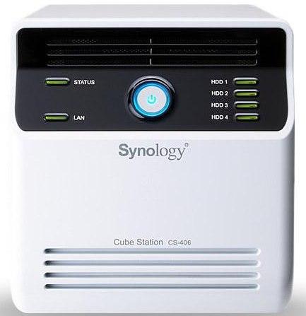 Synology cube station CS 406e - Synology lance le DS413j