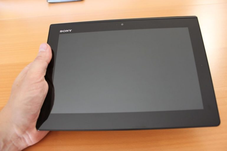 Test Sony Xperia tablet S 770x513 - Test Sony Xperia Tablet S