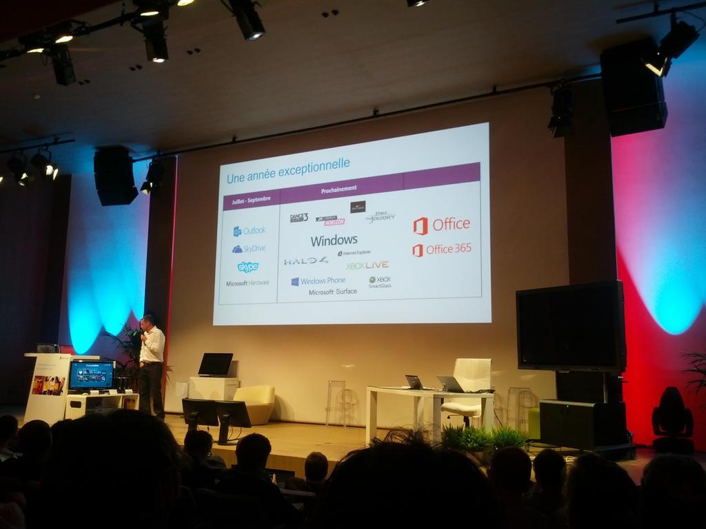 agenda microsoft 2012 - La rentrée chez Microsoft