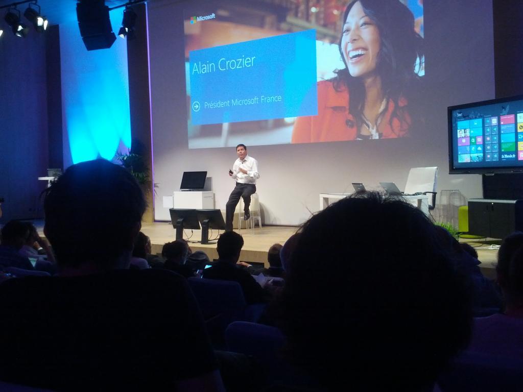 alain crozier Microsoft - La rentrée chez Microsoft