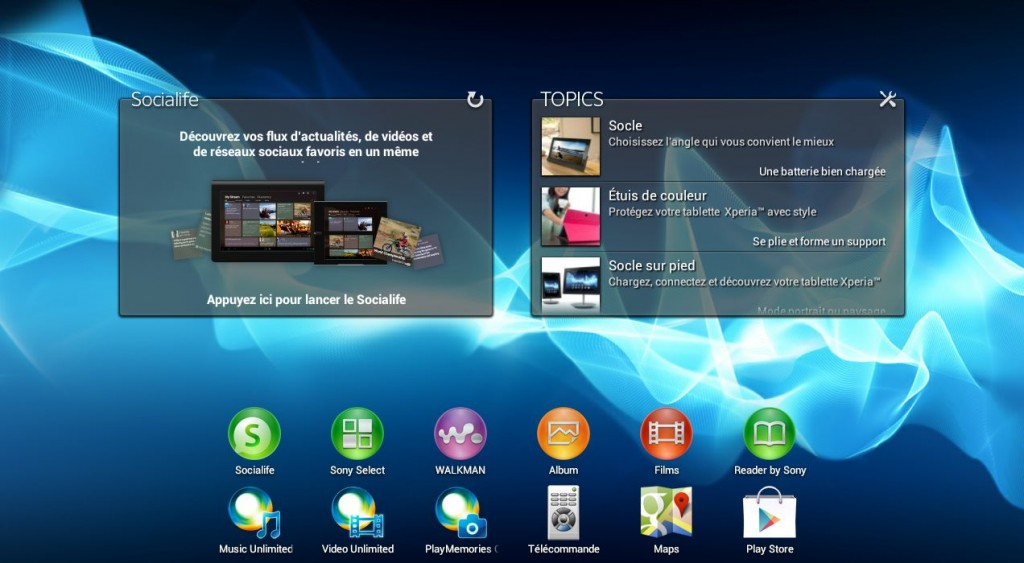 capture home 1024x563 - Test Sony Xperia Tablet S