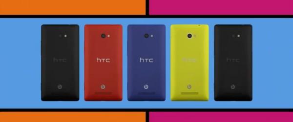 HTC 8X - Le HTC 8X en vidéo