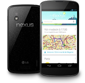 LG Nexus 4 - 1 million de Nexus 4 vendus