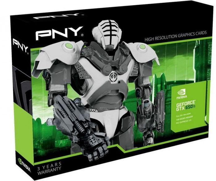 PNY GeForce GTX 650 Ti - PNY GeForce GTX 650 Ti pour moins de 150€