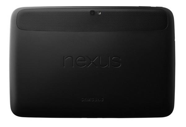 Samsung Nexus 10 dos - Google annonce les Nexus 4, 7 et 10