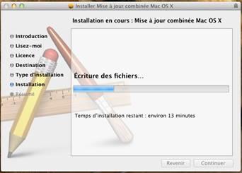 combo update 10.7.5 - VMware OS X 10.7.5 sous Windows