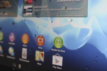 eau xperia tablet s 370x247 - La Sony Xperia Tablet S prend l'eau