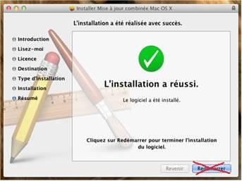 installation reussi 10.7.4