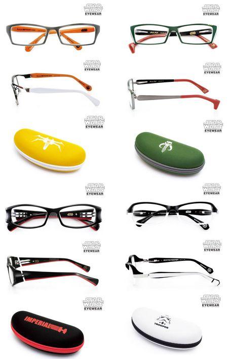 lunettes montures star wars - Des lunettes Star Wars