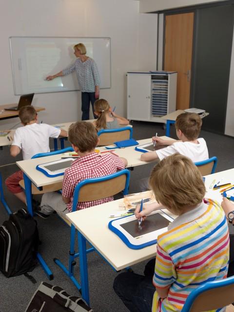 salle de classe - Les ardoises numériques arrivent en classe