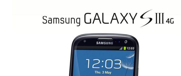 samsung galaxy SIII 4g - Galaxy SIII 4G débarque en novembre
