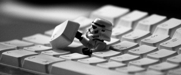star wars mac clavier stormtroopers - VMware - Mac OS X 10.7.4 sur PC
