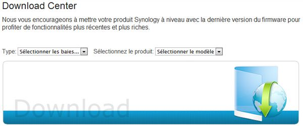 synology donwload center