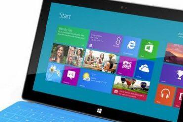 tablette surface windows rt 370x247 - Microsoft met en vente sa tablette