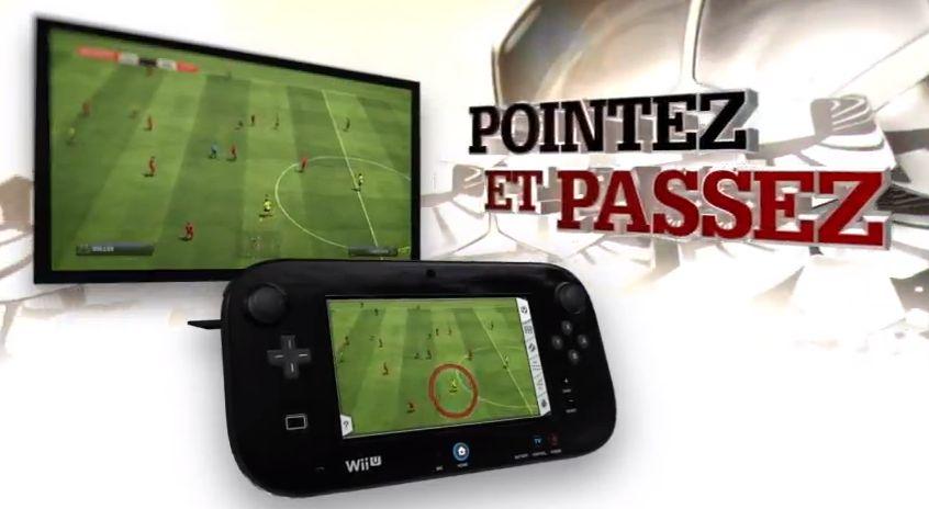 Fifa 13 Wii U pointer passer