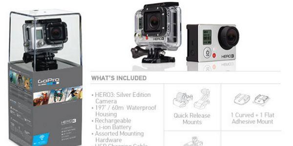 GoPro Hero 3 - GoPro HERO3 moins cher