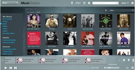 Music Station - QNAP passe en version 3.8
