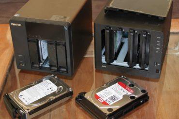 QNAP TS 469L Synology DS413 370x247 - Test du NAS QNAP TS-469L et firmware 3.8