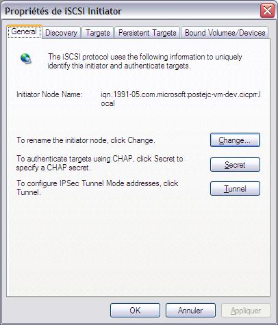 Initiateur iSCSI XP1 - [MAJ] - Installer 2 serveurs de données (SAN) répliqués avec OpenMediaVault et DRBD