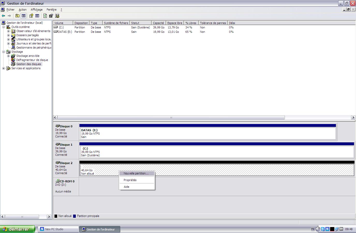 Initiateur iSCSI XP11 - [MAJ] - Installer 2 serveurs de données (SAN) répliqués avec OpenMediaVault et DRBD