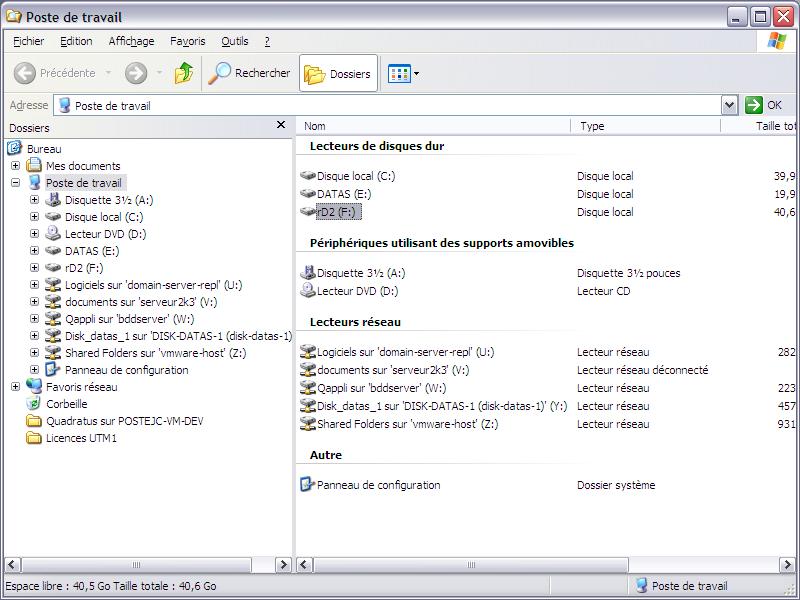 Initiateur iSCSI XP17 - [MAJ] - Installer 2 serveurs de données (SAN) répliqués avec OpenMediaVault et DRBD