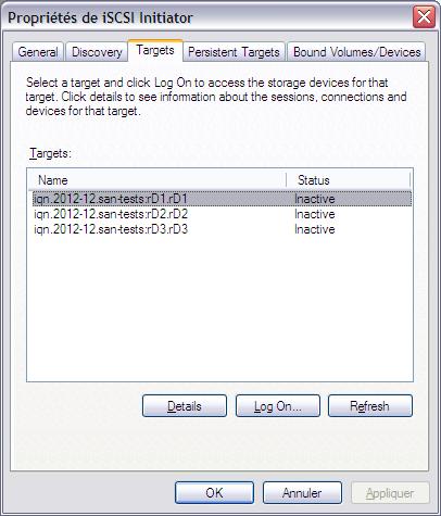 Initiateur iSCSI XP4 - [MAJ] - Installer 2 serveurs de données (SAN) répliqués avec OpenMediaVault et DRBD