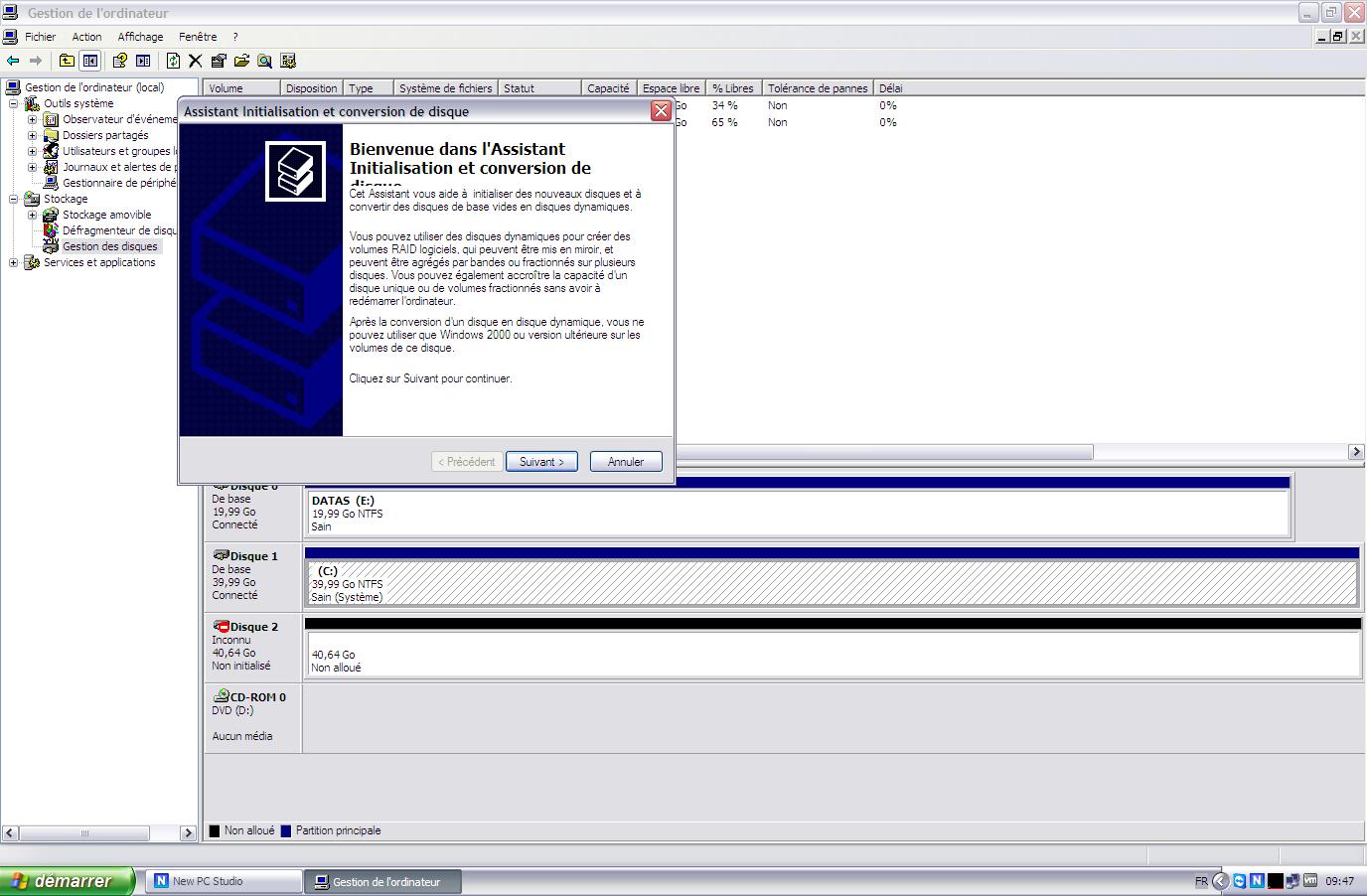 Initiateur iSCSI XP7 - [MAJ] - Installer 2 serveurs de données (SAN) répliqués avec OpenMediaVault et DRBD