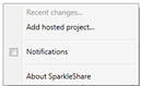 M2 - Installer SparkleShare, un Dropbox-like Open Source