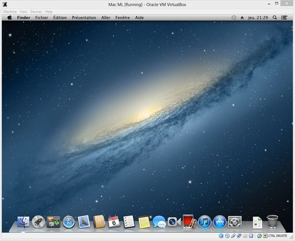 Mountain Lion VM VirtualBox Windows 8 - Comment installer OS X sur votre PC avec VirtualBox ?