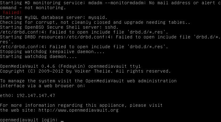 OpenMediaVault12 - [MAJ] - Installer 2 serveurs de données (SAN) répliqués avec OpenMediaVault et DRBD