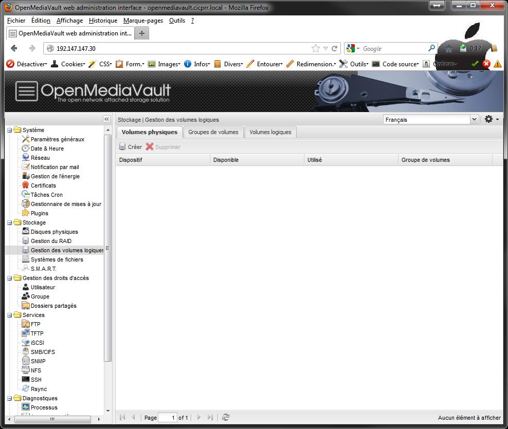 OpenMediaVault LVM1 - [MAJ] - Installer 2 serveurs de données (SAN) répliqués avec OpenMediaVault et DRBD