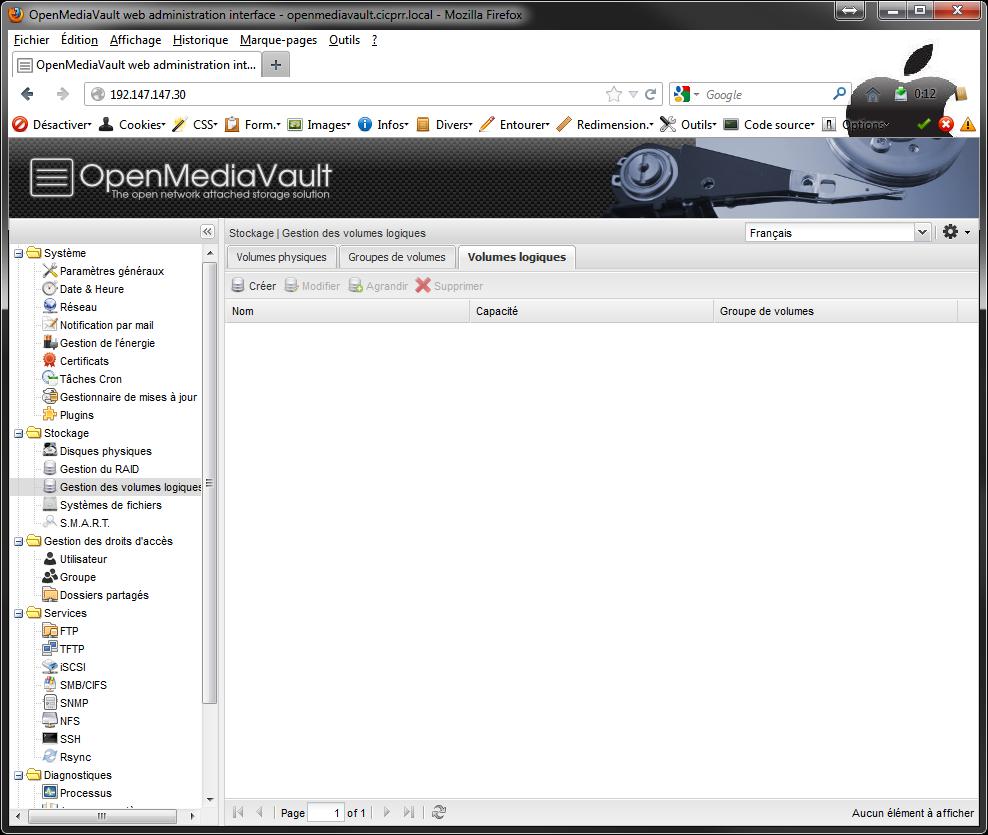 OpenMediaVault LVM LV - [MAJ] - Installer 2 serveurs de données (SAN) répliqués avec OpenMediaVault et DRBD