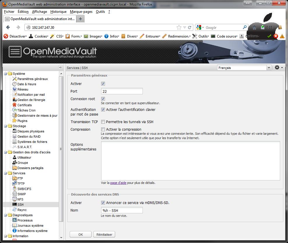 OpenMediaVault SSH - [MAJ] - Installer 2 serveurs de données (SAN) répliqués avec OpenMediaVault et DRBD