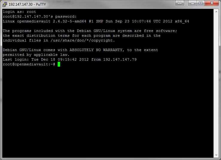 OpenMediaVault putty2 - [MAJ] - Installer 2 serveurs de données (SAN) répliqués avec OpenMediaVault et DRBD
