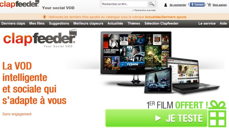 clapfeeder - Clapfeeder - La VOD sociale