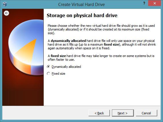 creation disque VDI dynamique - Comment installer OS X sur votre PC avec VirtualBox ?