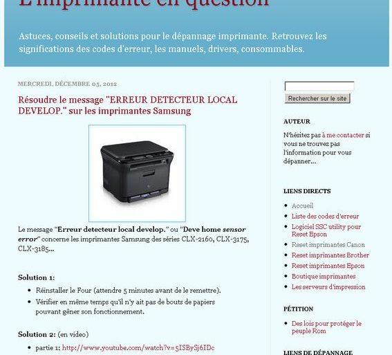 site imprimante 567x513 - Trucs et Astuces pour votre imprimante