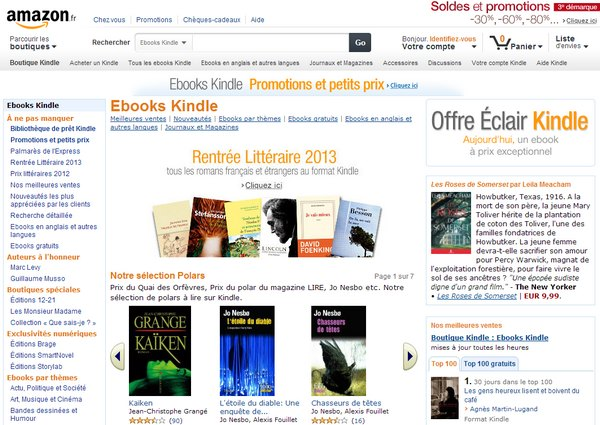 ebooks Kindle - Test du Kindle Paperwhite