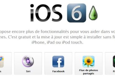 iOS 6 370x247 - iPhone 5 - Jailbreak Untethered disponible ?
