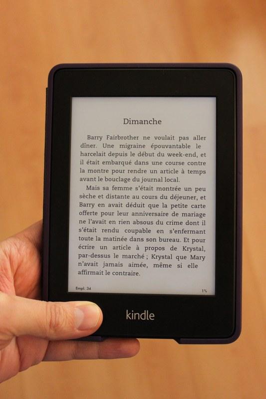 kindle paperwhite - Test du Kindle Paperwhite