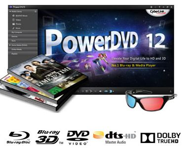 powerdvd 12 - Comment lire un film Blu-ray avec Windows 8 ?