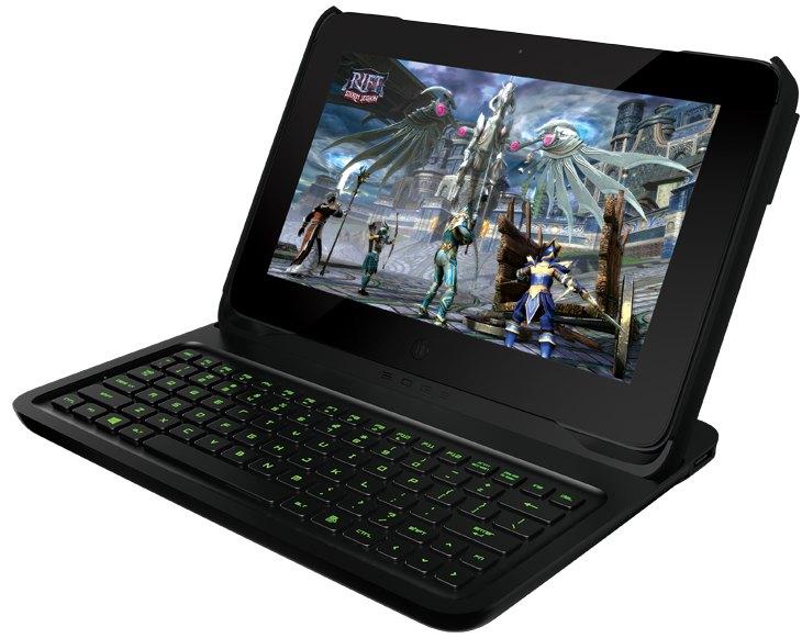 razer edge clavier - La tablette la plus puissante au monde ?