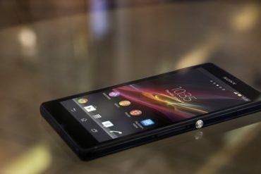 sony xperia z 370x247 - Prise en main Sony Xperia Z