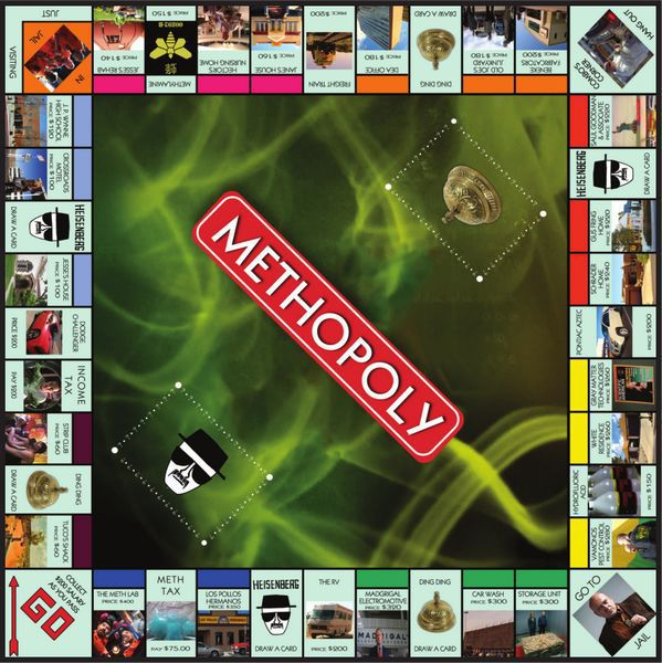 METHOPOLY - Methopoly – Le Monopoly de Breaking Bad