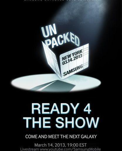 Samsung mobile S 4 416x513 - Présentation du Samsung Galaxy S4, le 14 mars