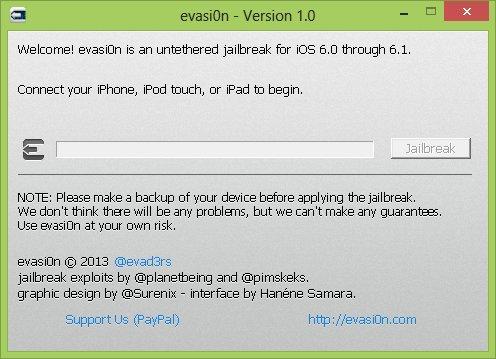 evasi0n version 1.0 - Jailbreak iOS 6.x - EVASI0N débarque...