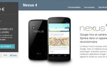 google nexus 4 370x247 - 1 million de Nexus 4 vendus