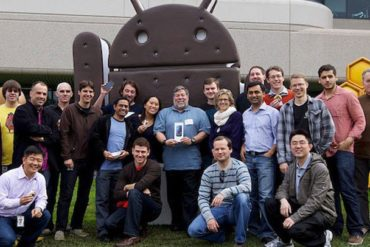 "steve wozniak android 370x247 - L'iPhone est ""un peu en retard"""