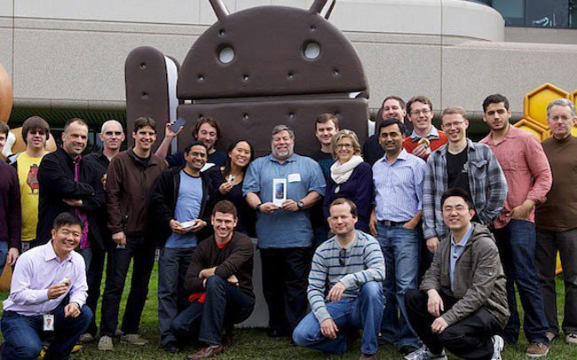 "steve wozniak android - L'iPhone est ""un peu en retard"""